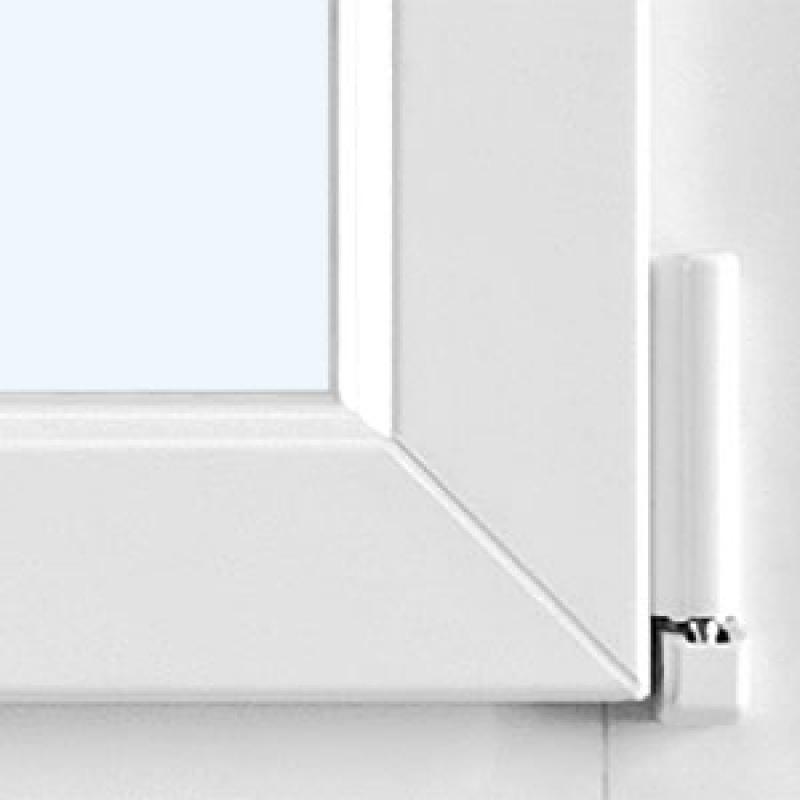 Novit finstral bianco satinato casabellacasasicura porte e finestre - Finestre pvc bianche ...