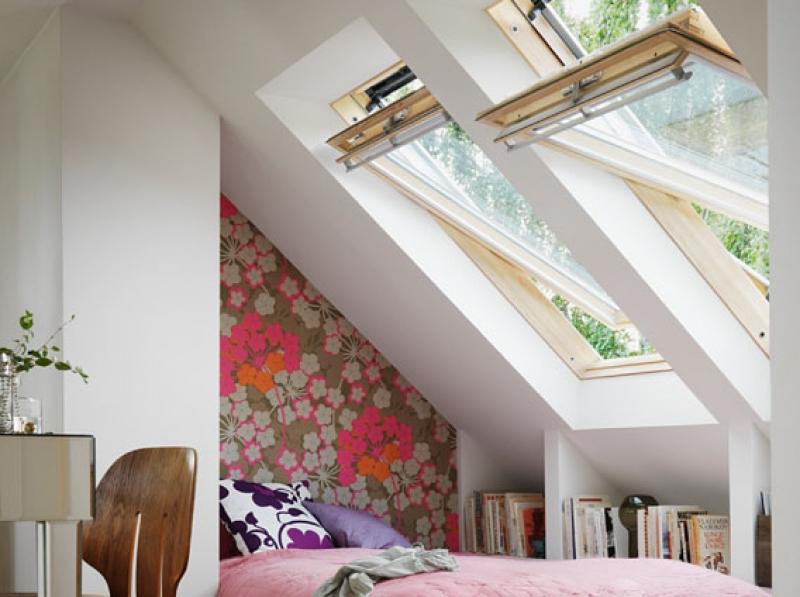 Velux la finestra da tetto originale for Finestra nel tetto