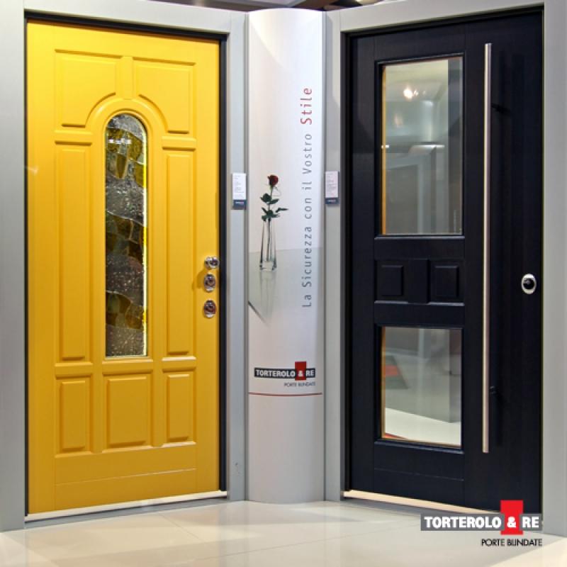 Porte blindate speciali creativita 39 e personalita 39 by torterolo re casabellacasasicura - Porte e finestre blindate ...