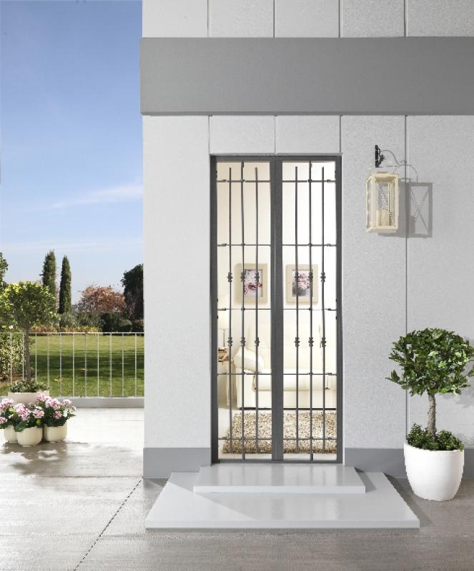 Grate e cancelli casabellacasasicura porte e finestre - Cancelli di sicurezza per porte finestre ...