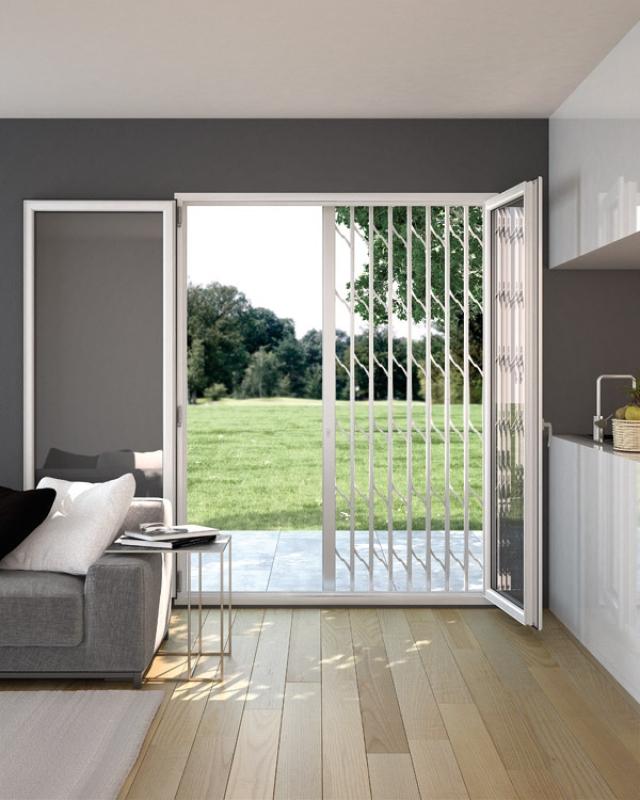 Inferriata praesidium protezione intelligente - Protezione per finestre ...