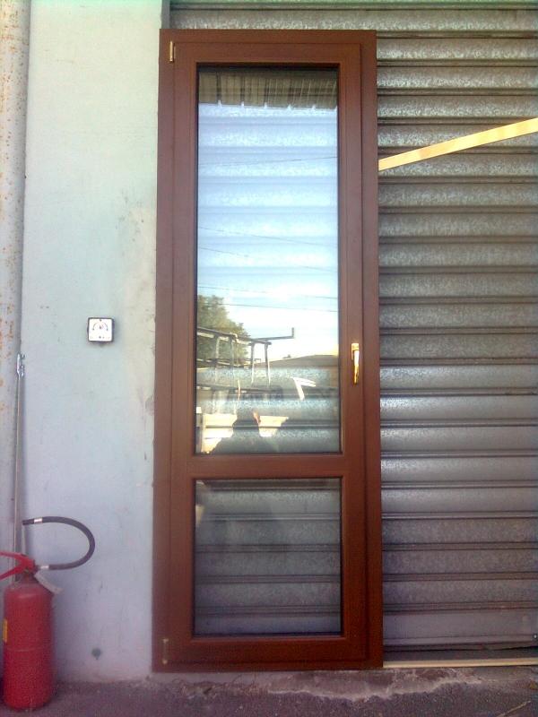 Porta finestra in alluminio korus bicolore - Porta finestra alluminio ...