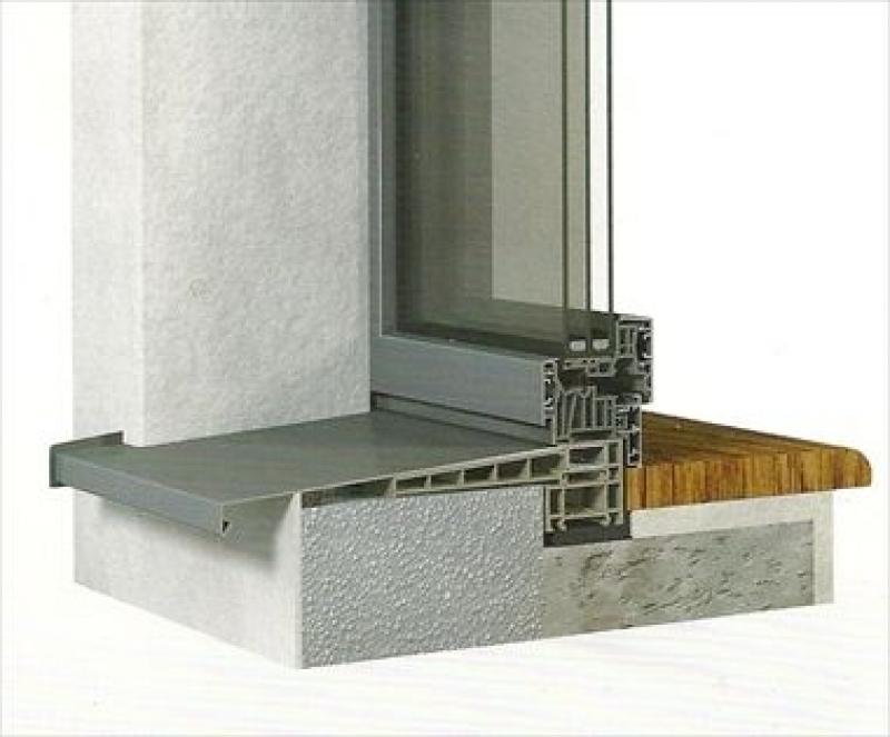Da finstral le finestre in alluminio pvc alluminio casabellacasasicura porte e finestre - Soglie in marmo per finestre ...