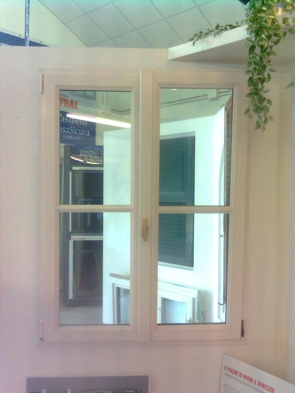 Finestra pvc finstral bicolore casabellacasasicura - Prezzo finestre pvc ...